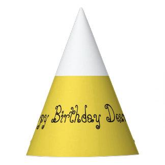 Happy Birthday Dear John Party Hat