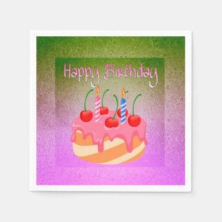 Happy Birthday Disposable Napkins