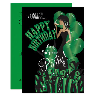 Happy Birthday Diva Girl | DIY Name | Green Card