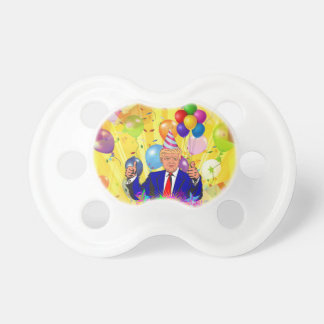 happy birthday donald trump pacifier