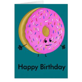 Happy Birthday Donut Card