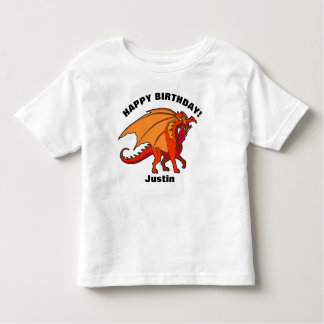 Happy Birthday Dragon YOUR NAME T-Shirt