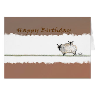 Happy Birthday Ewe card