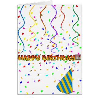 Happy Birthday - Fake Enthusiasm Card