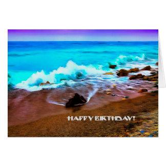 Happy Birthday Fine Art Card