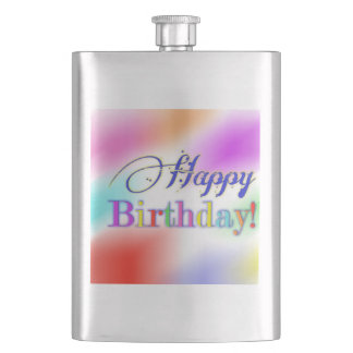 Happy Birthday Flask
