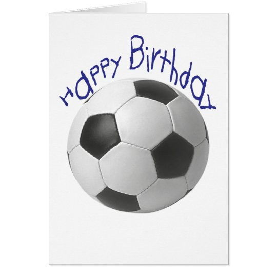 Happy Birthday Football  Gifts Card