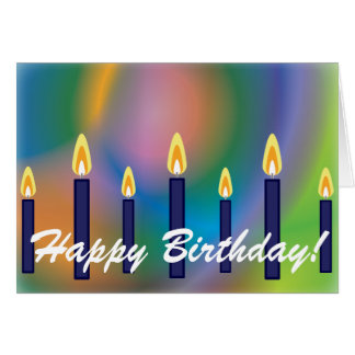 Happy Birthday! For Him-Customize Greeting Card