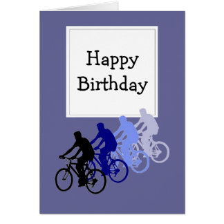 Happy Birthday for Over the Hill  Bike, Cycle Fans Card