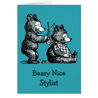 Happy Birthday for Stylist Card