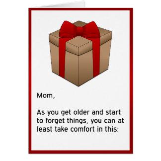 Happy Birthday - Forgetful Mom Card