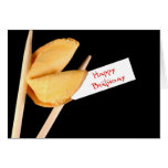Happy Birthday Fortune Cookie Greeting Cards