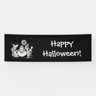 Happy Birthday Frankie (black&white)banner Banner