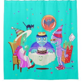 Happy birthday Frankie (color) curtain/ backdrop
