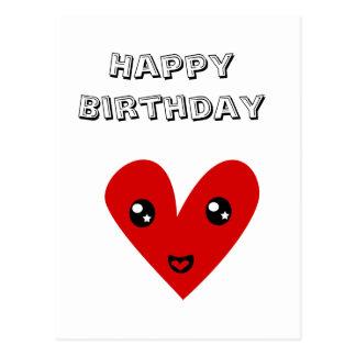 Happy Birthday From my Happy Heart Postcard