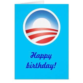 Happy Birthday from Obama! Card