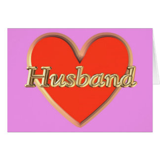 Happy Birthday from wife to husband Birthday wish Greeting Card
