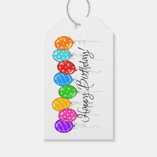 Happy Birthday Gift Tag - SRF Pack Of Gift Tags