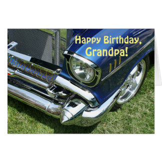 """Happy Birthday, Grandpa"" Card"