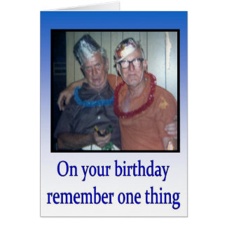 Happy Birthday greeting card vintage humor