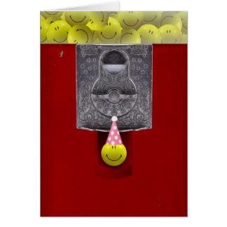 Happy Birthday Gumball Machine Card