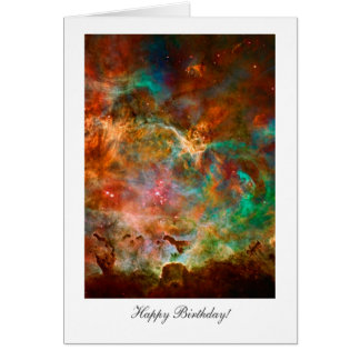 Happy Birthday, Happy Returns, Carina Nebula Stars Card