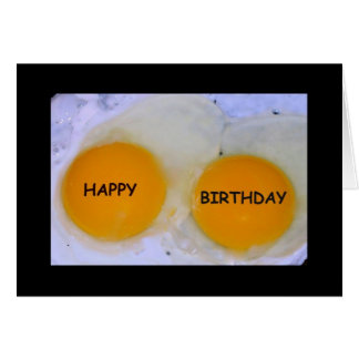 Happy Birthday - Hope It's Egg-stra Special! Greeting Card