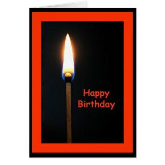 Happy Birthday Hot Stuff! Birthday Card