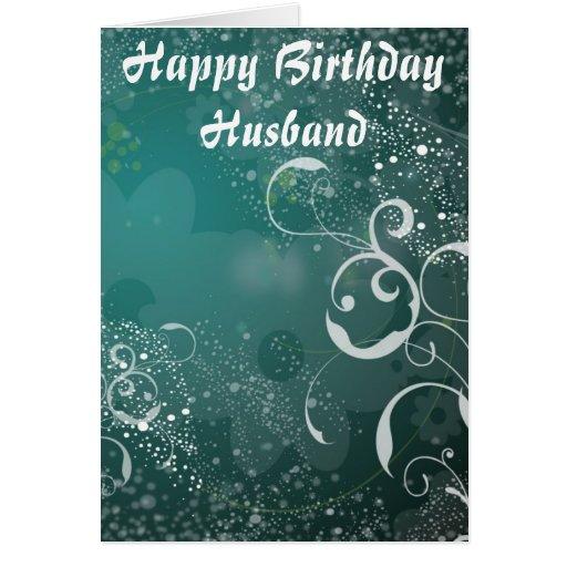 Happy Birthday Husband Cards