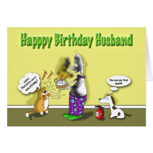 Happy Birthday husband Card