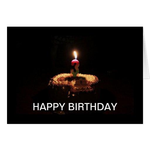 Happy Birthday! I'm 3 Greeting Cards