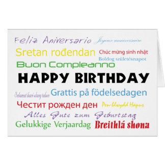 Swedish birthday gifts on zazzle ca happy birthday in many languages card bookmarktalkfo Choice Image