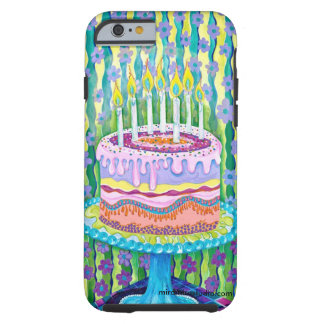 Happy Birthday iphone case. Tough iPhone 6 Case
