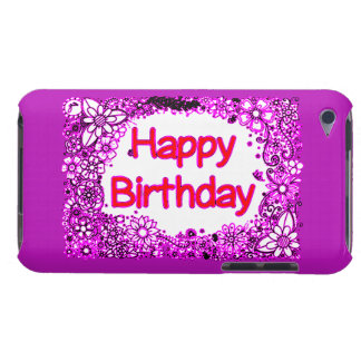 Happy Birthday iPod Case-Mate Case