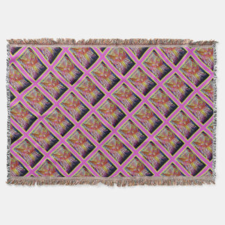 Happy Birthday Iris Throw Blanket