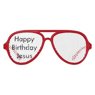 Happy Birthday, Jesus!  Aviator Party Glasses Party Sunglasses