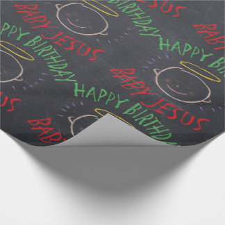 Happy Birthday Jesus - Christmas Color Chalkboard