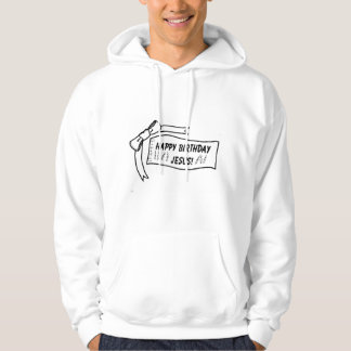 Happy Birthday Jesus Mens Hoodie