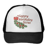 Happy Birthday Jesus Trucker Hat