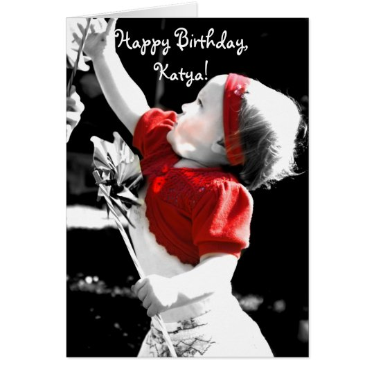 Happy Birthday, Katya! Card
