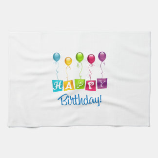 Happy Birthday Kitchen Towel