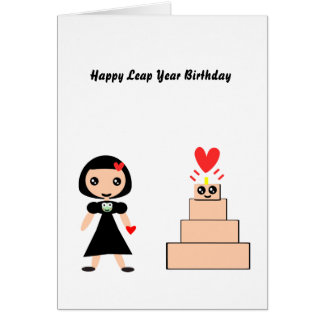 Leap Year Birthday Cards Photocards Invitations More
