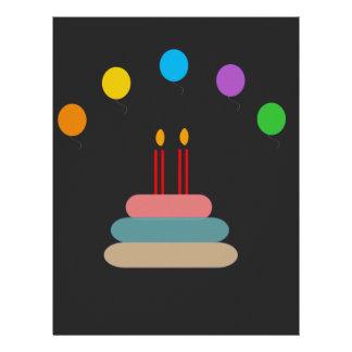 Happy Birthday Letterhead