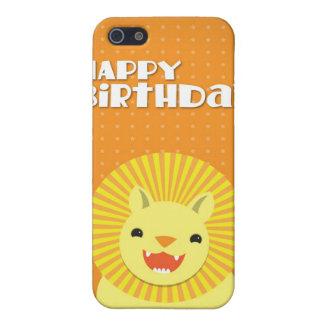 Happy Birthday LION iPhone 5 Cover