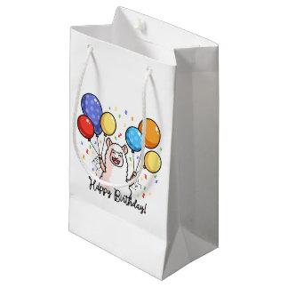Happy Birthday Llama Small Gift Bag