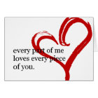 Happy Birthday Love Quote Greeting Card 2