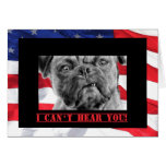 Happy Birthday Military Soldier U.S. Flag and Pug