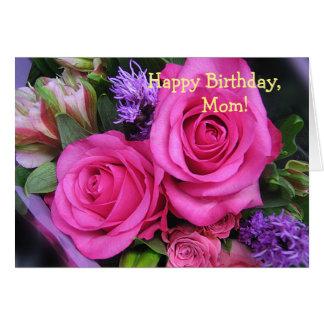 """Happy Birthday, Mom"" Card"