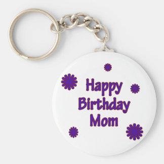 Happy Birthday Mom Keychains