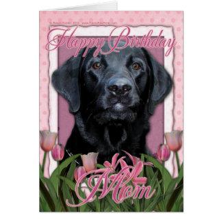 Happy Birthday Mom - Labrador - Black - Gage Card